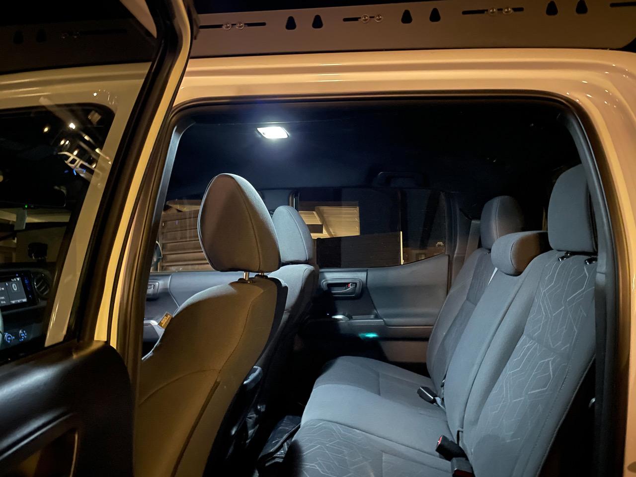Affordable LED Interior Light Upgrade for 3rd gen Tacoma