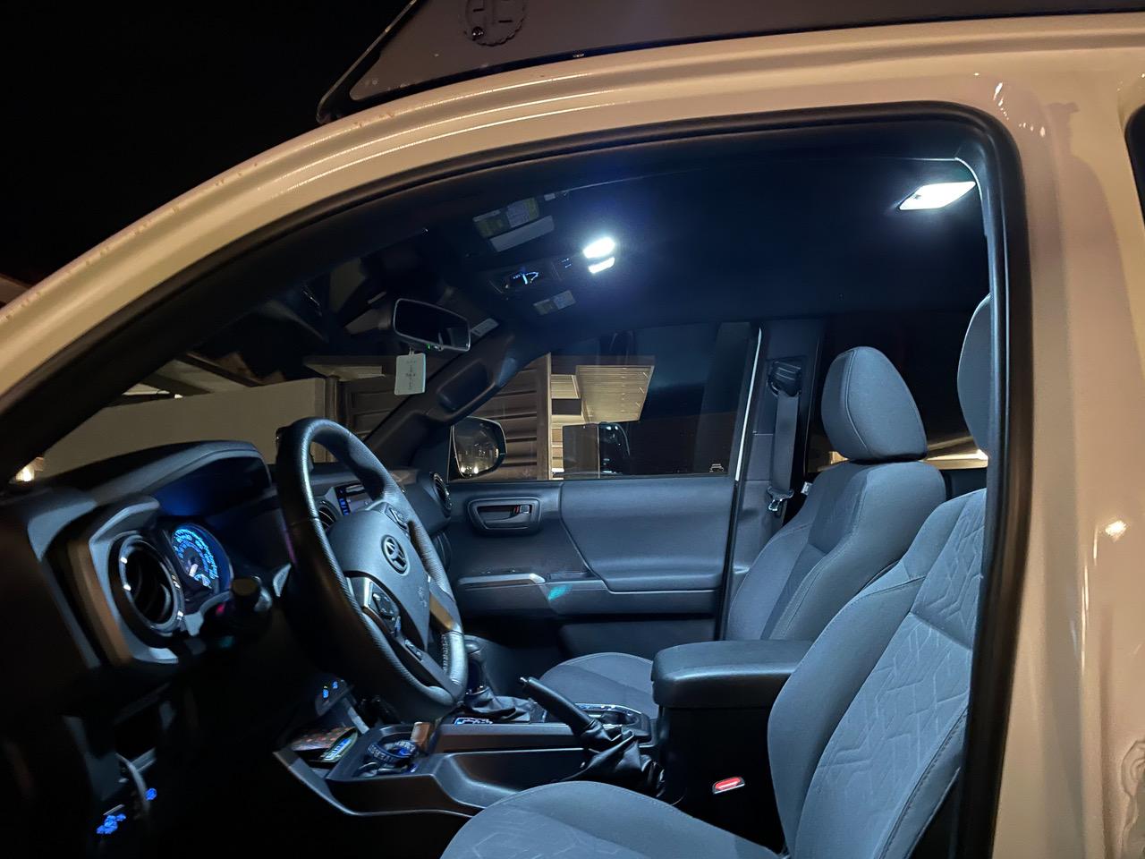 Night Shots for VLEDS Interior LED Light Kit for 3rd Gen Tacoma