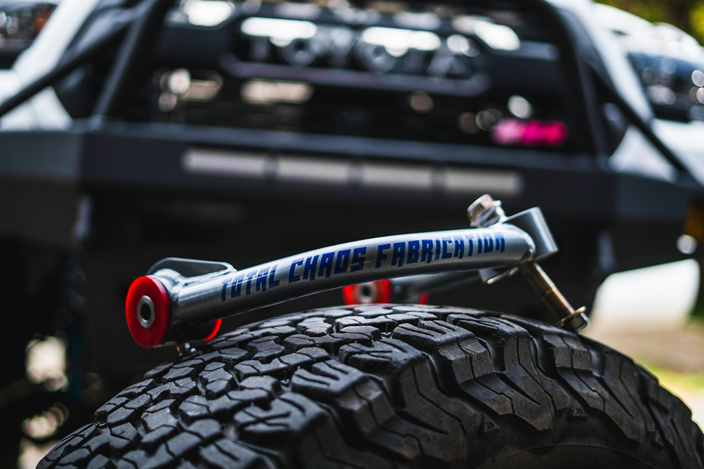 Bolt-On Uniball Upper Control Arms from Total Chaos Fabrication