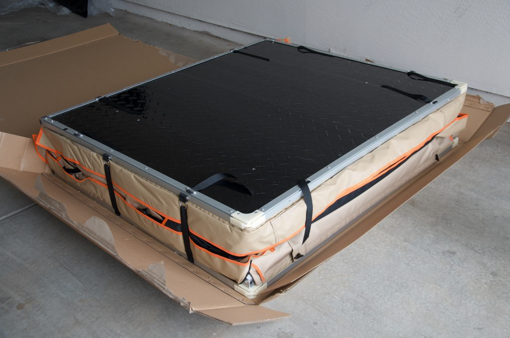 Guana Roof Top Tent and Annex Unboxing