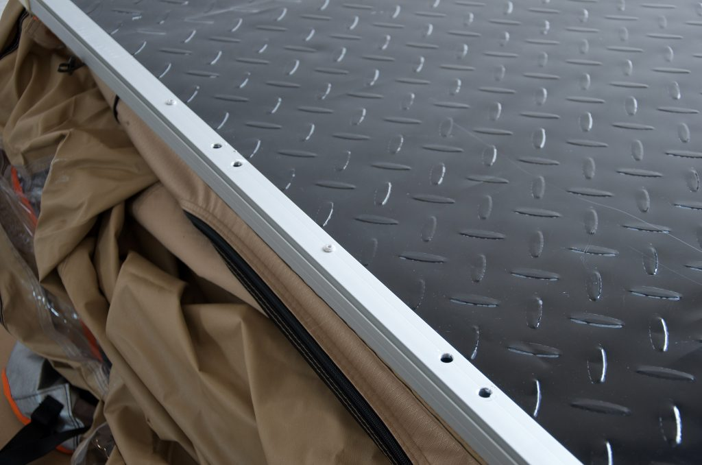 Mounting Ladder to Rooftop Tent