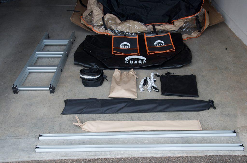 Guana Equipment Wanaka RTT Contents