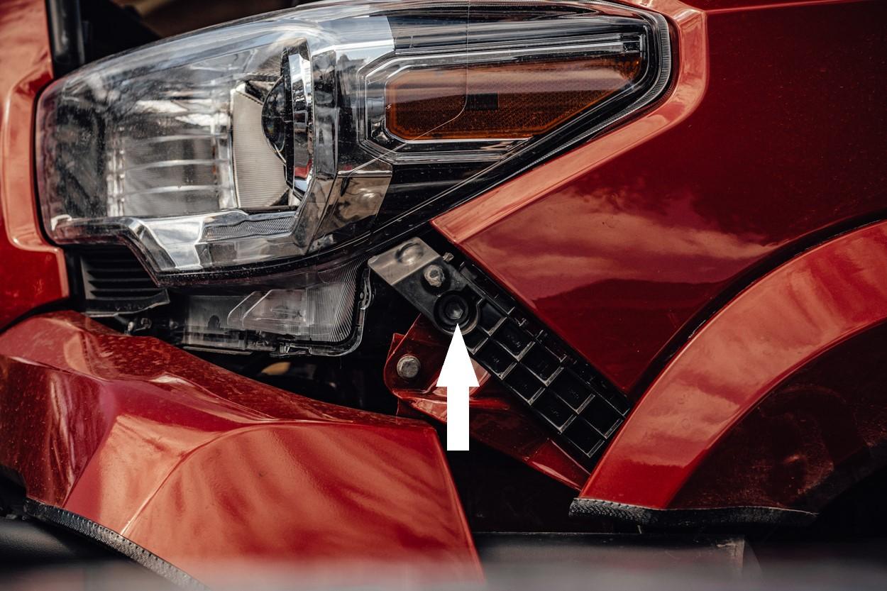 Partially Remove Fender & Bumper