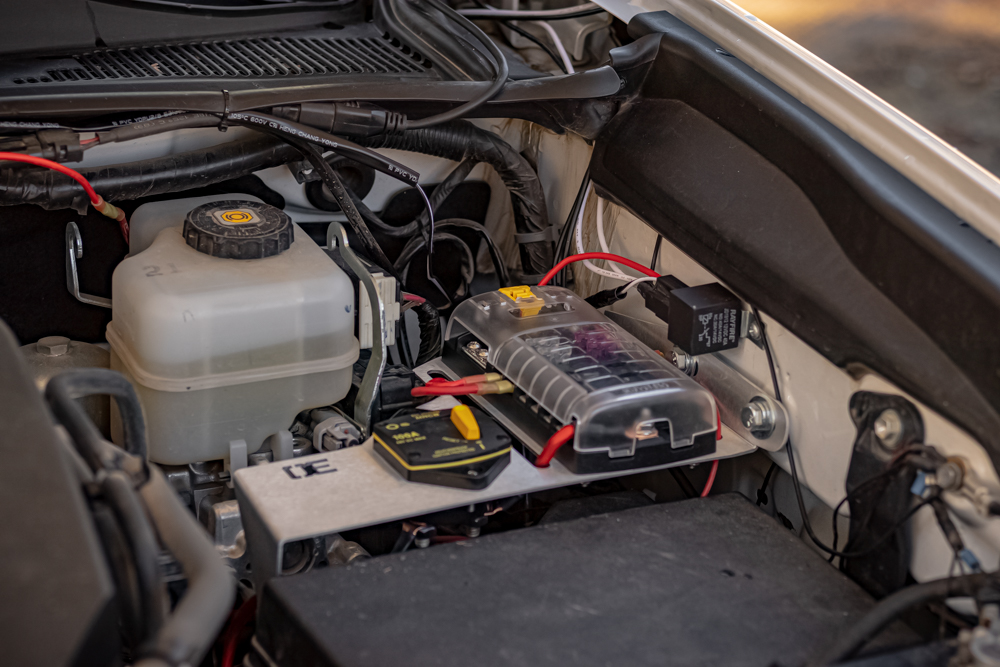 Auxiliary Power Options from Overland Equipped for 3rd Gen Tacoma