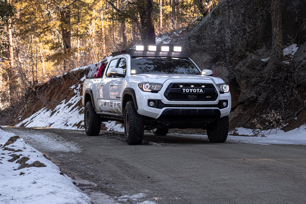 Ironman 4X4 Eclipse LED Driving Lights on 3rd Gen Toyota Tacoma
