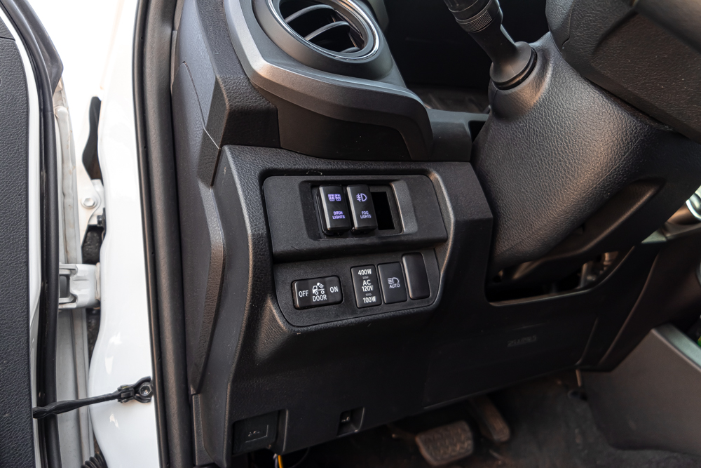 Toyota Tacoma Aftermarket Switches