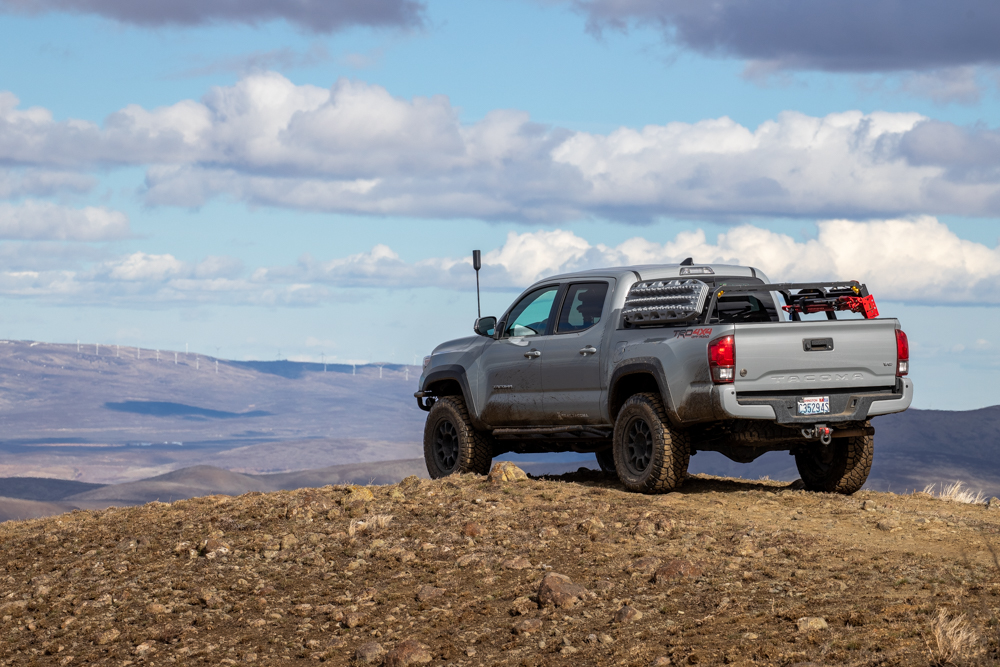 Lifted 3rd Gen Tacoma with Bed Rack & weBoost Cell Phone Signal Booster