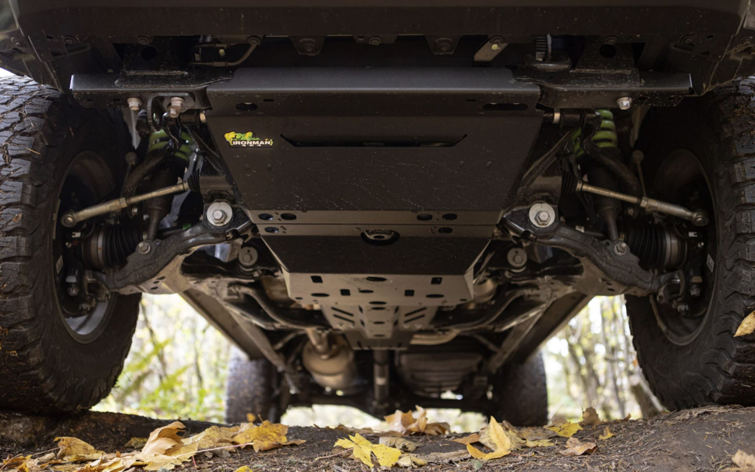 Premium Black Underbody Skid Plates for 2nd & 3rd Gen Tacoma from Ironman 4X4