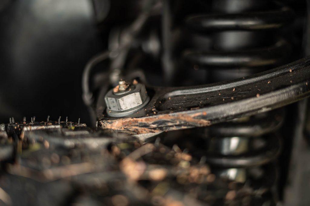 "33"" Tires Rubbing on SPC UCAs on Toyota Tacoma"