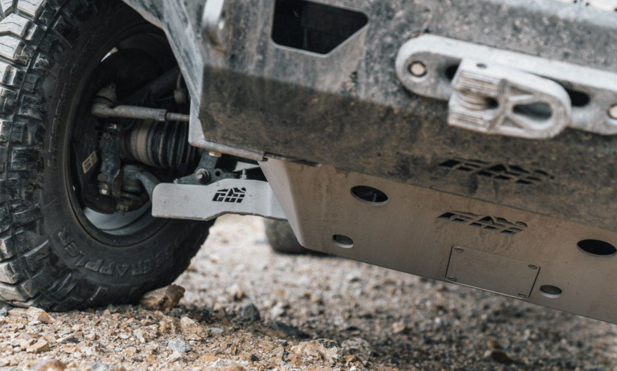 CBI Off-Road Fabrication Lower Control Arm (LCA) Skid Plate for 3rd Gen Tacoma