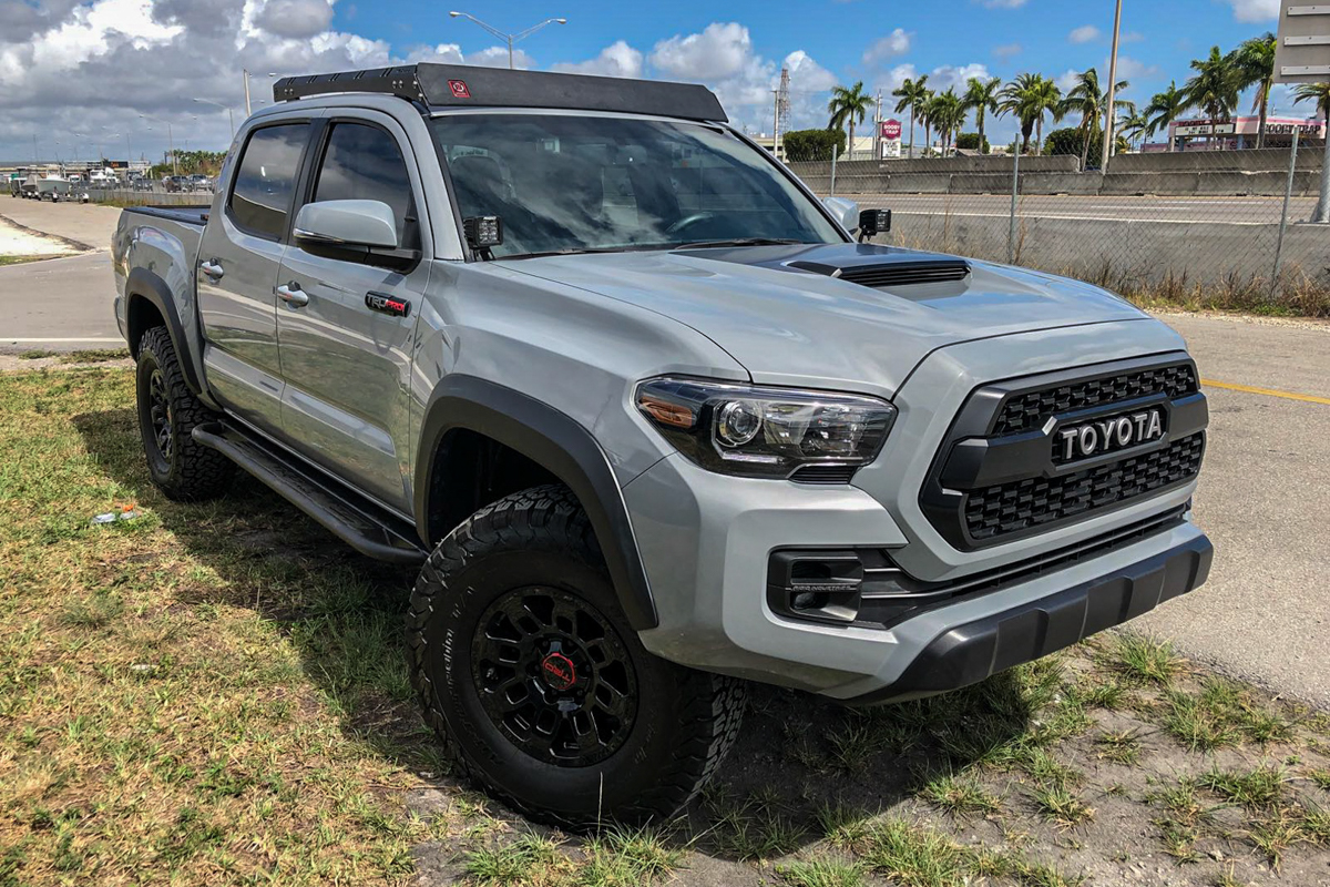 Proline 4X4 Roof Rack on Double Cab 3rd Gen Tacoma