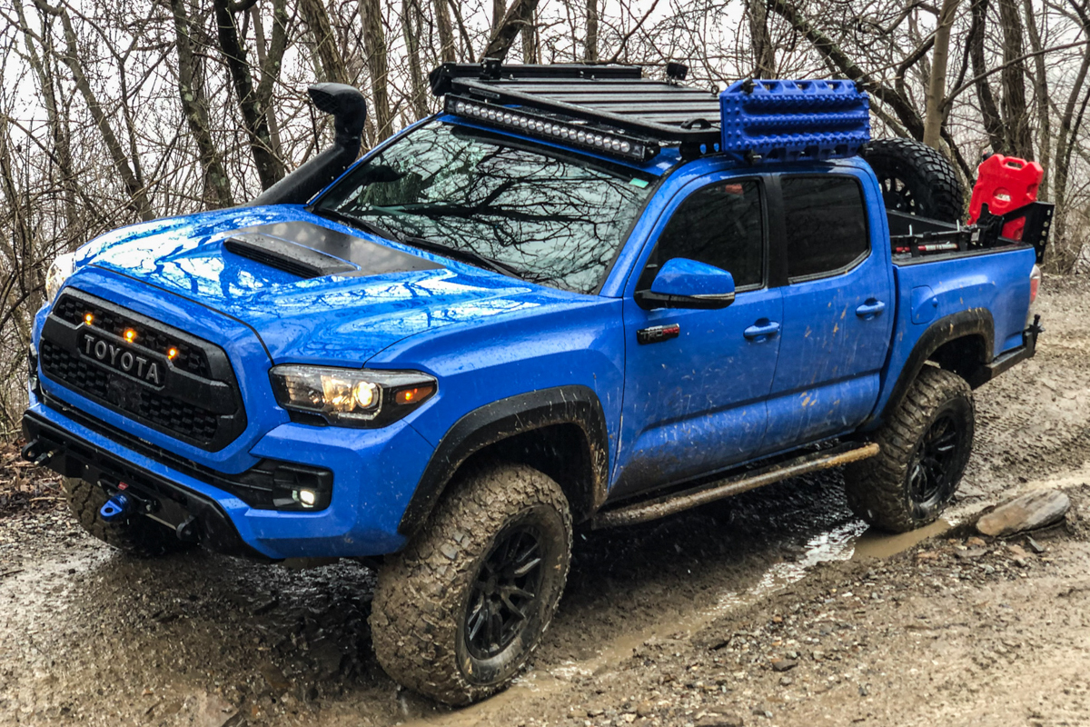 Rhino-Rack Roof Rack on Double Cab 3rd Gen Tacoma