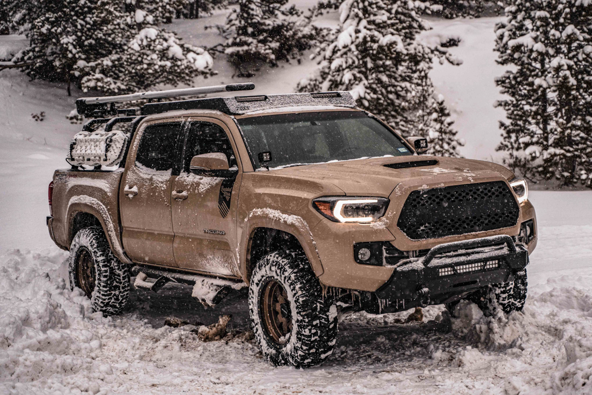 TMT 4X4 Roof Rack on Double Cab 3rd Gen Tacoma