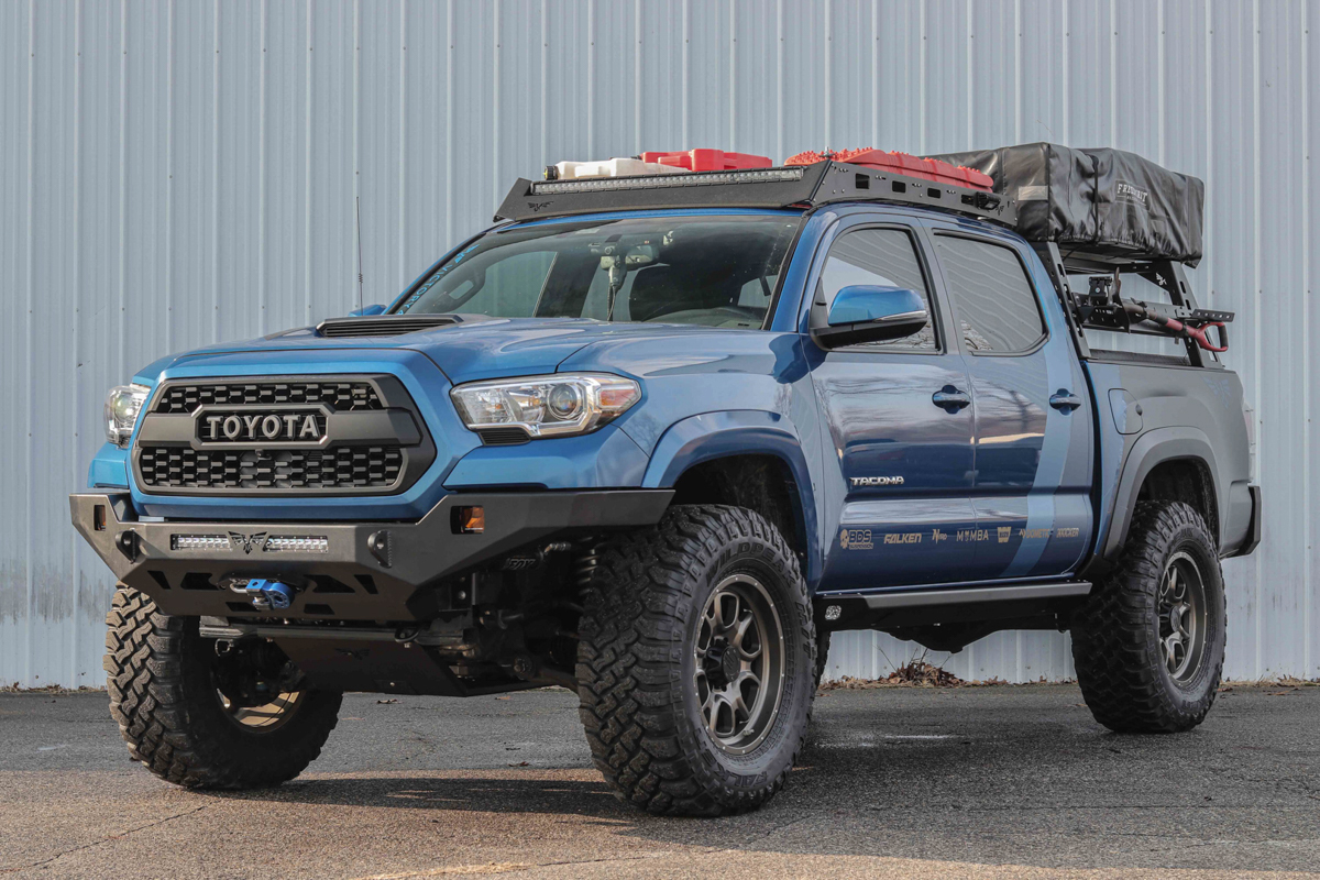 Victory 4X4 Roof Rack on Double Cab 3rd Gen Tacoma