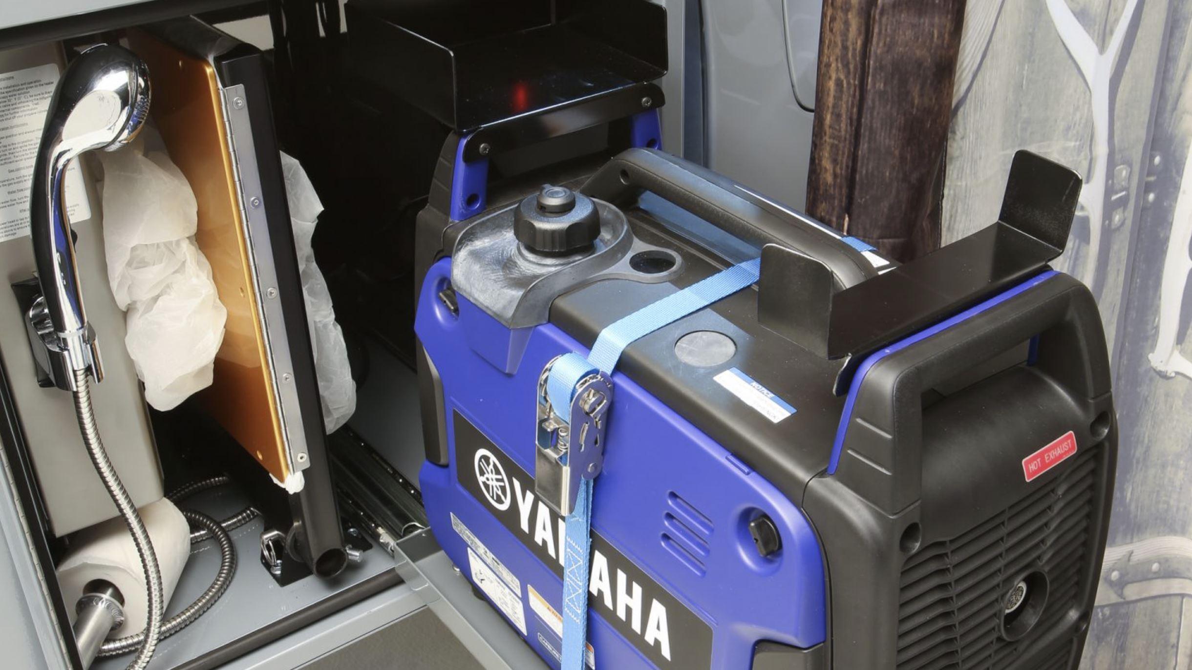 Yamaha Generator on Toyota TRD Sport Trailer for Camping, Off-Roading & Overlanding