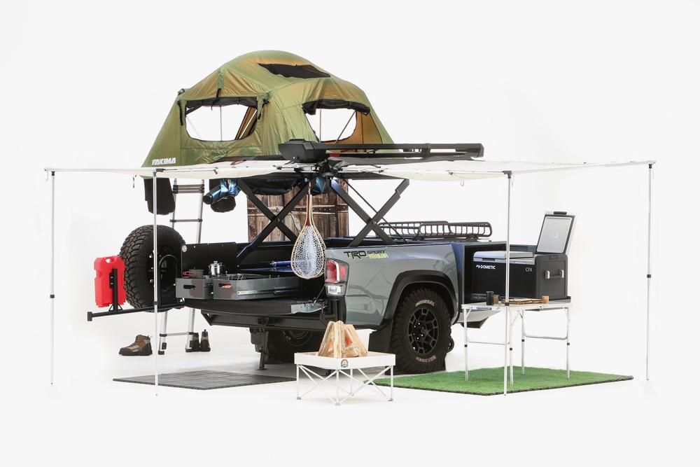 All New Toyota Tacoma TRD Sport Trailer SEMA Concept