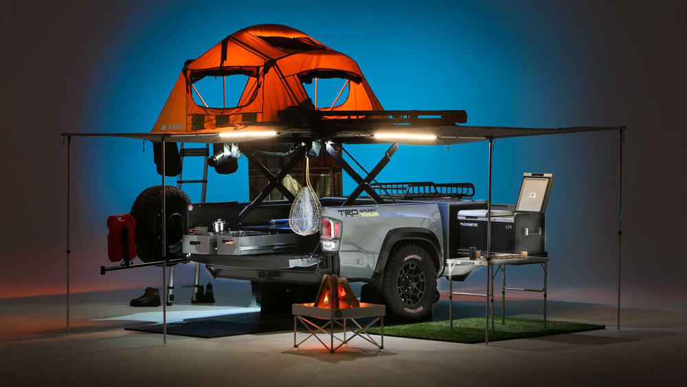 Cement TRD Sport Trailer for Outdoor Travel