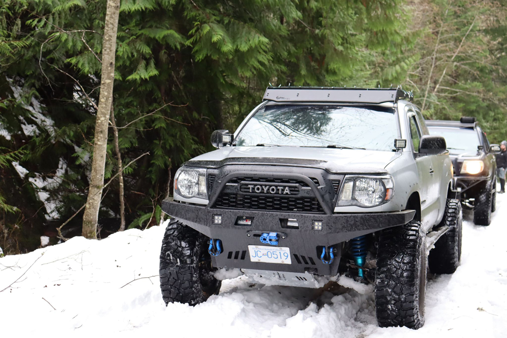 Build Sheet for Silver Streak Mica 2nd Gen Toyota Tacoma