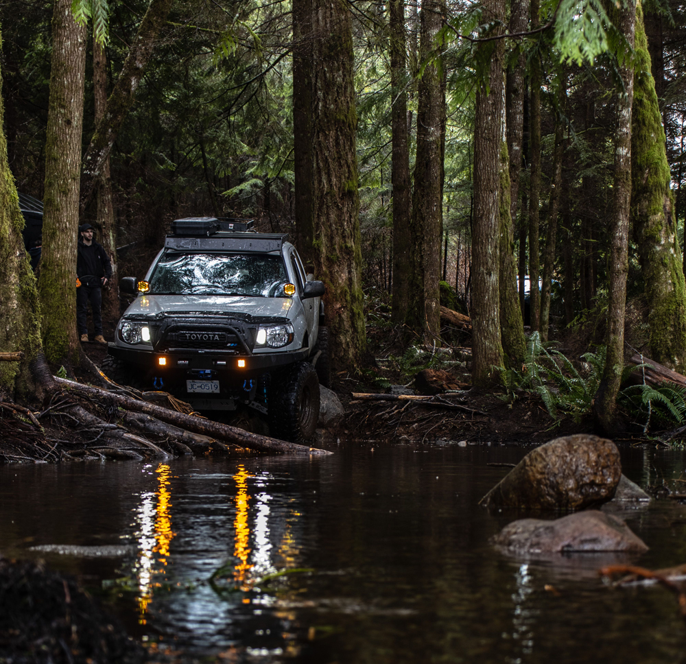 Canada Off-Roading & Overlanding in 2nd Gen Toyota Tacoma