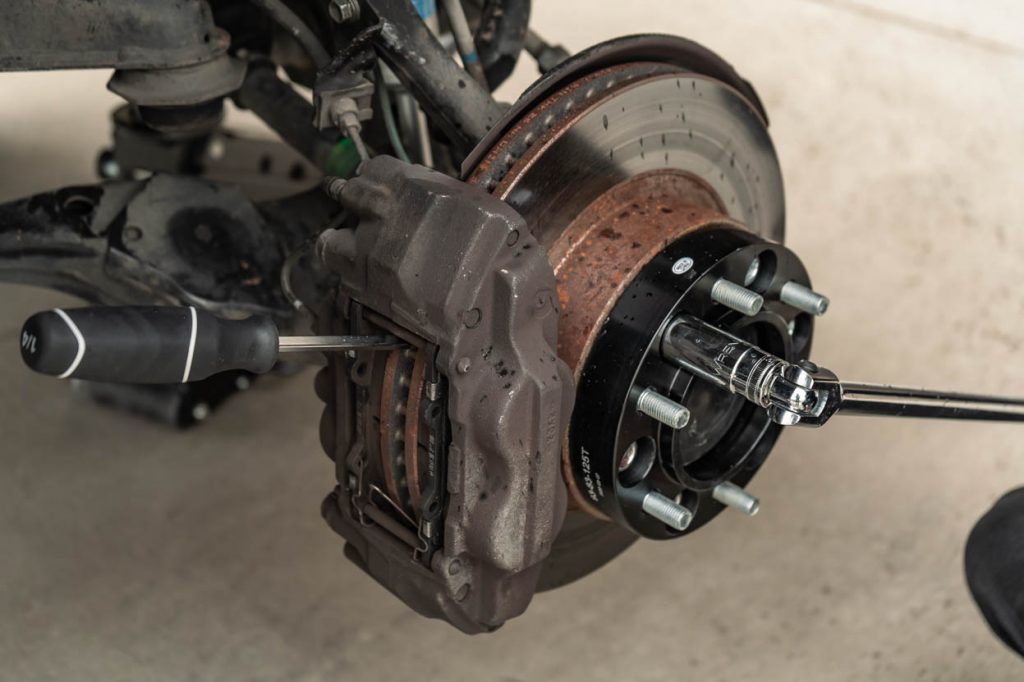 Installing G2 Wheel Spacer on 2nd Gen Toyota Tacoma - Torque Specifications