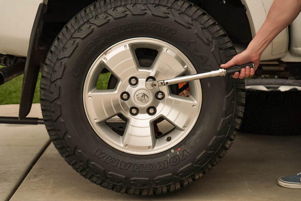 Toyota Tacoma Wheel Lug Torque Specs