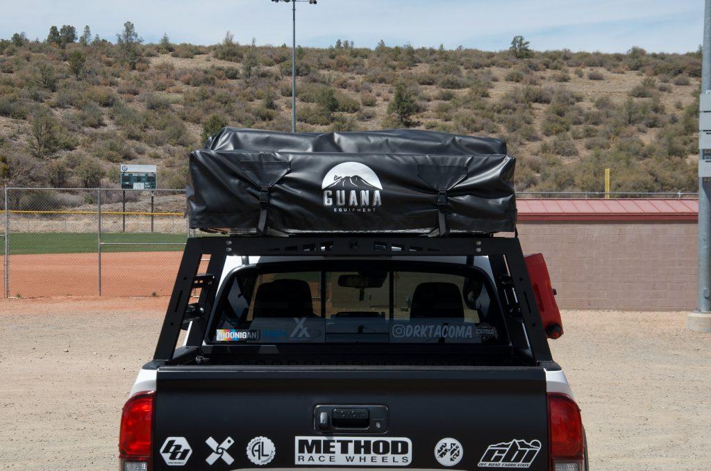 Hobbs Offroad Bed Rack with Guana Equipment Wanaka RTT