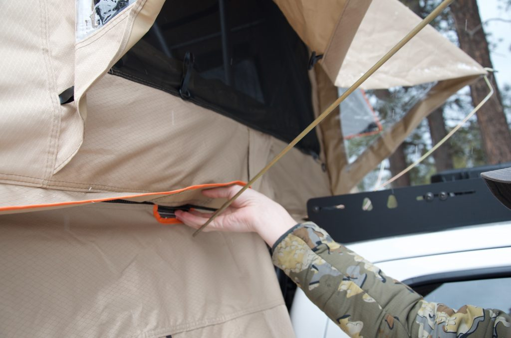 Installing Annex for Rooftop Tent