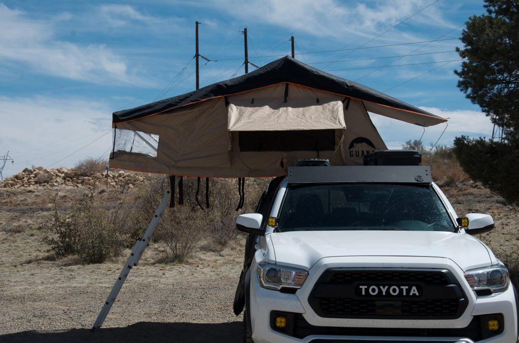 Toyota Tacoma with Guana Equipment RTT