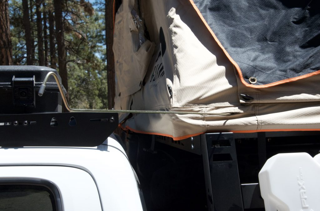 Setting Up a Rooftop Tent