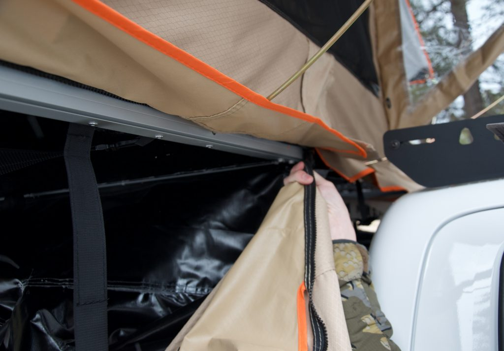 XL Annex on Rooftop Tent