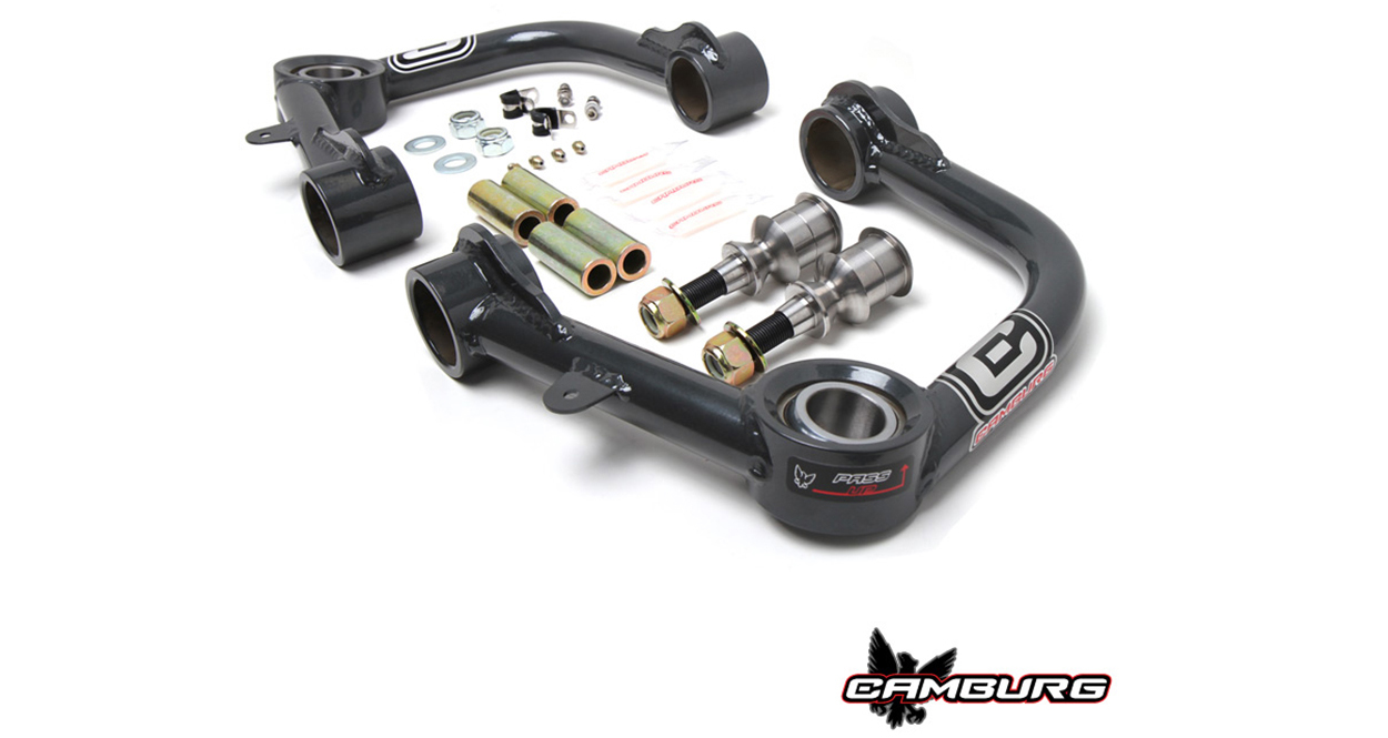 Camburg Engineering Uniball Upper Control Arms (UCAs) for 2nd & 3rd Gen Tacoma