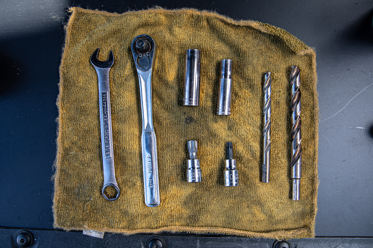 Required Tools for Bed Stiffener Installation