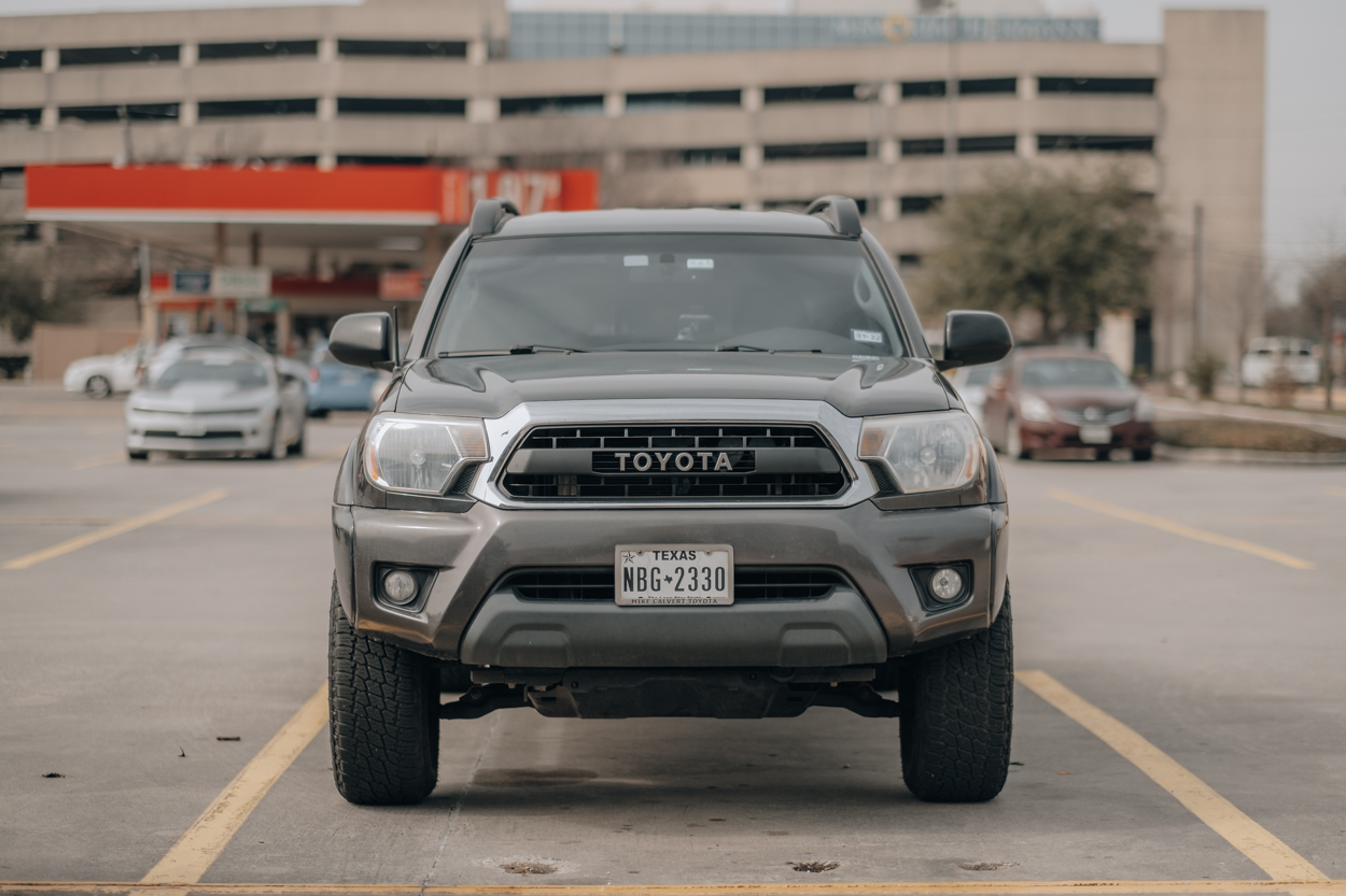 Replica TRD Pro Grille on Late Model (2012-2015) 2nd Gen Toyota Tacoma