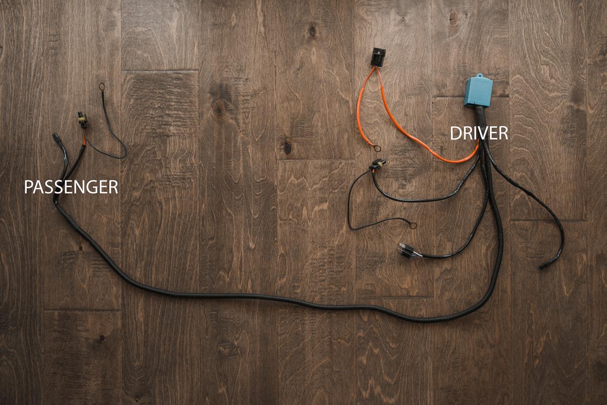 Wiring for Custom Retrofit Headlights