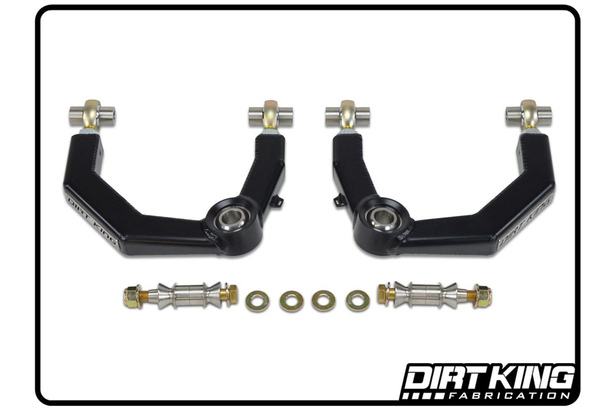Dirt King Fabrication Heim Joint Upper Control Arms (UCAs) for 2nd & 3rd Gen Tacoma