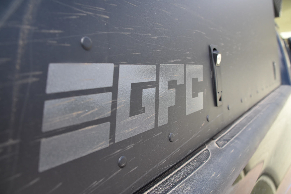 GFC - Go Fast Camper Side Panel on 2nd Gen Tacoma