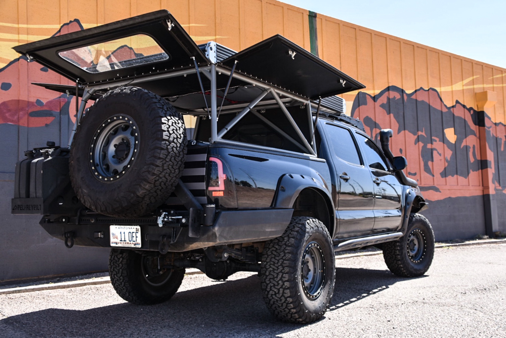 GFC - Go Fast Camper on 2nd Gen Tacoma