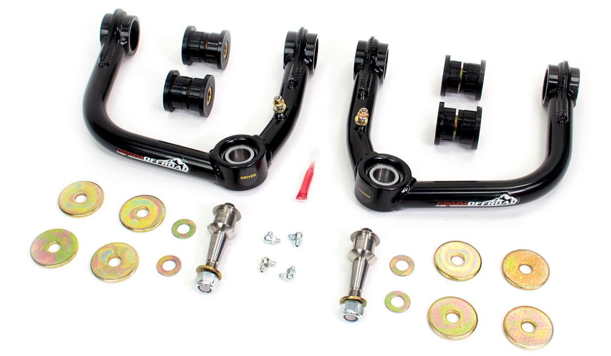 Grimm Offroad Uniball Upper Control Arms (UCAs) for 2nd & 3rd Gen Tacoma