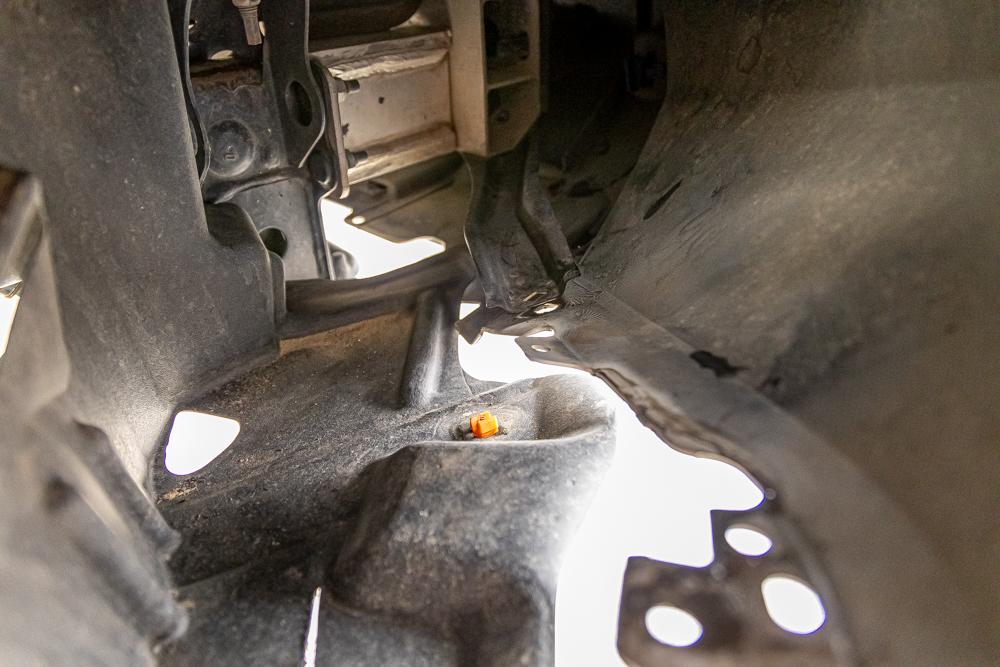 3rd Gen Tacoma Front Bumper Install - Trimming Fender Liner