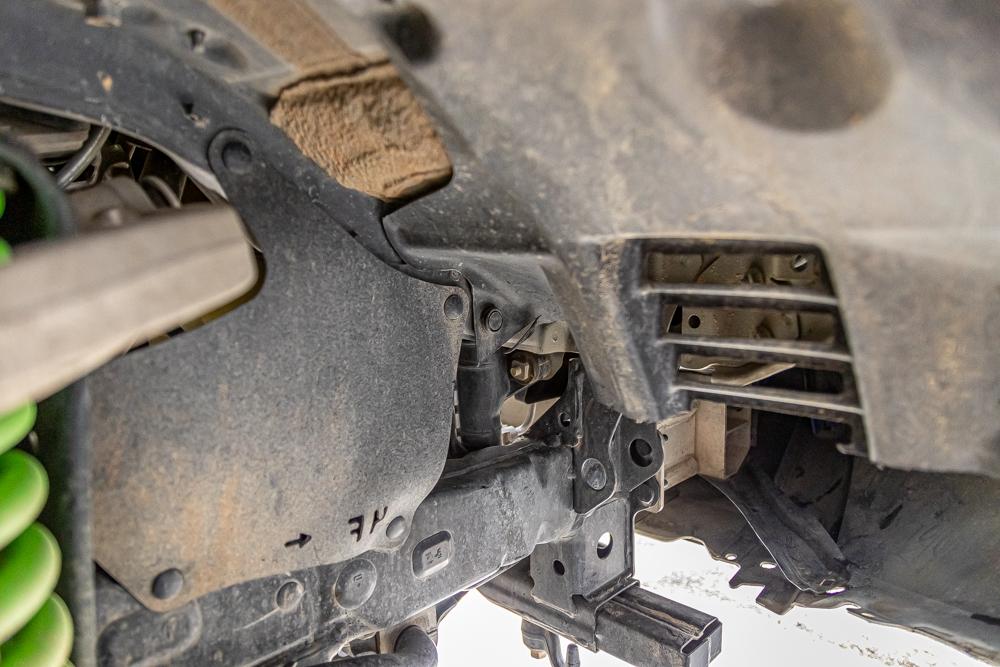 Trimming Inner Fender Liner for Aftermarket Front Bumper Install on Tacoma