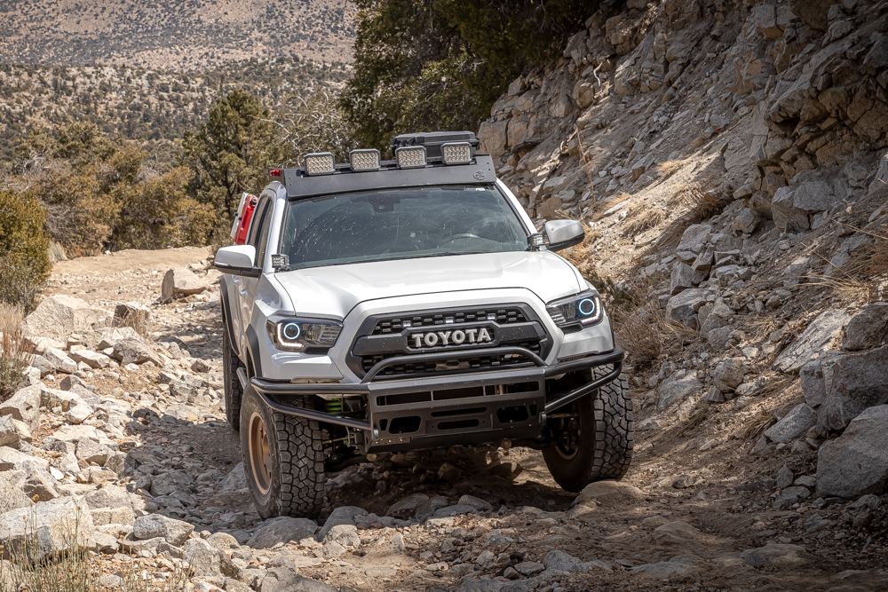 BAMF Hybrid Front Bumper on 3rd Gen Tacoma - Install, Review & Overview