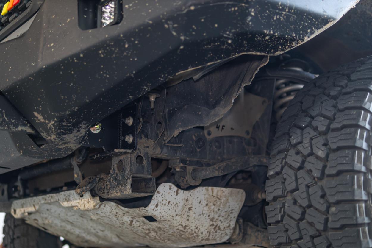 Backwoods Adventure Mods Hybrid Hi-Lite Front Bumper Install - 3rd Gen Tacoma