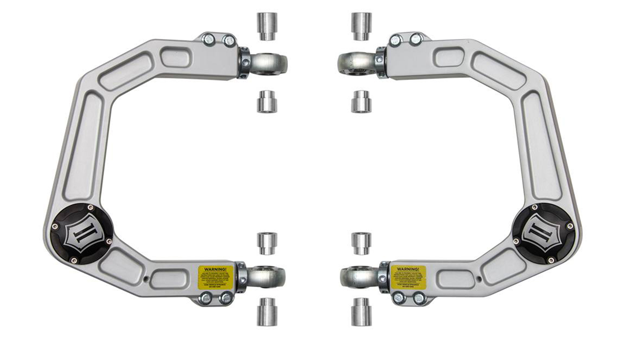 Icon Vehicle Dynamics Billet Aluminum Delta Joint Upper Control Arms (UCAs) for 2nd & 3rd Gen Tacoma