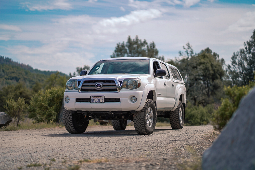Lifted 2nd Gen Tacoma with OME Lift Kit - Front Coilovers, Rear Shocks, Rear Leaf Springs