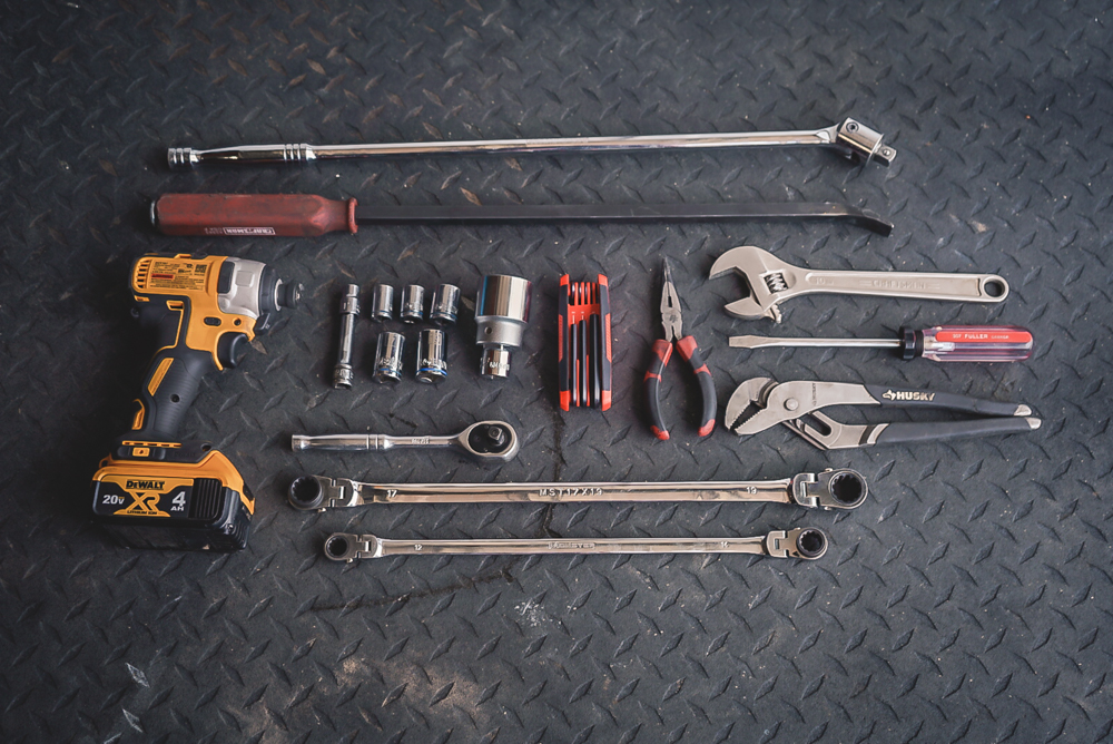 Toyota Tacoma Lift Install - Required Tools