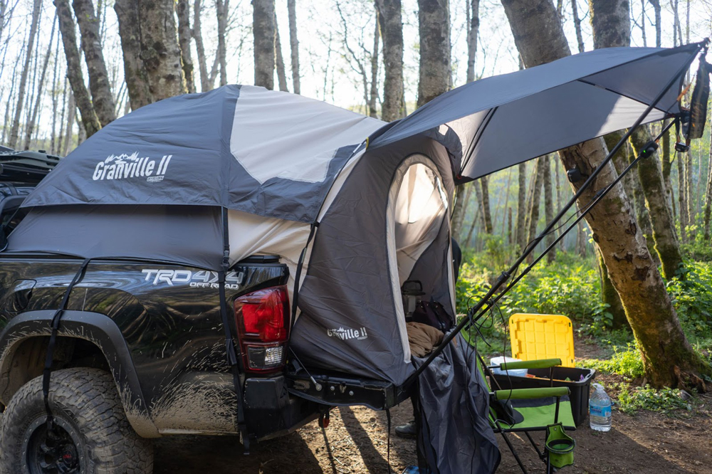Offroading Gear Granville II Truck Bed Tent on 3rd Gen Toyota Tacoma
