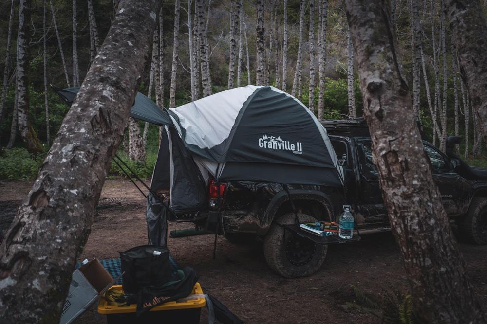 Offroading Gear Granville II Truck Tent - Rain Fly Install