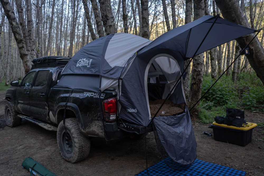 Granville II from Offroading Gear - Truck Bed Tent for 5 & 6 Foot Truck Beds