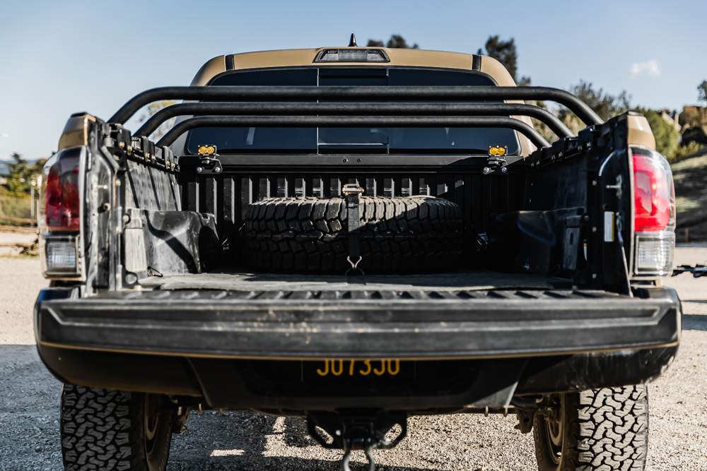 Bed Cargo Cross Bars for Off-Road & Overland - 3rd Gen Tacoma