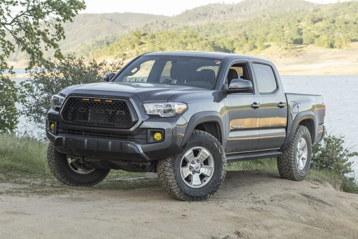 """33"""" Tires on Tacoma (How To Fit) - MGM 3rd Gen Tacoma with 285/70/27 Tires"""